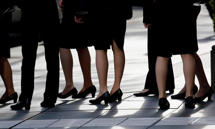 A Revolt Against High Heels In Japan