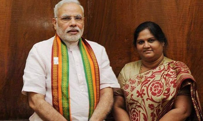 Ex Mp Kotthapalli Geetha Joins Bjp Party