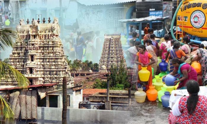 దేవుడి మహిమకు ప్రత్యక్ష సాక్ష్యం ఇది… శాస్త్రవేత్తలు సైతం అవాక్కవుతున్న దేవాలయ రహస్యం -Several Wells In Ramanathaswamy Temple Still Have Water - -Devotional-Telugu Tollywood Photo Image