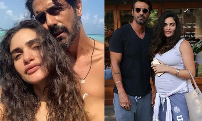 Arjun Rampal Girlfriend Gabriella Demetriades Gives Birth To A Baby Boy