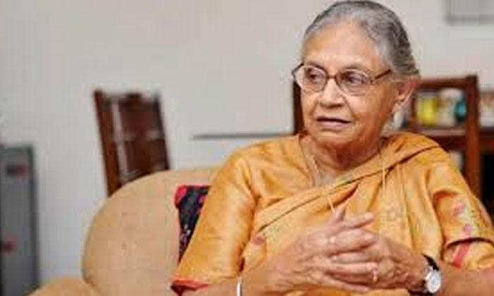 ఢిల్లీ మాజీ ముఖ్యమంత్రి షీలా దీక్షిత్ మృతి-Telugu Political News-Telugu Tollywood Photo Image