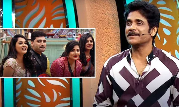 Host Nagarjuna To Be Improved His Relations With Contestants-