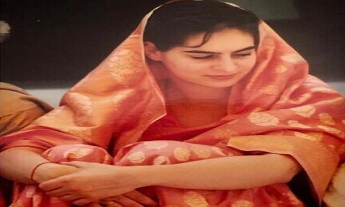 Priyanka Gandhi Shares Throwback Photo Of Her Wedding Day Joining
