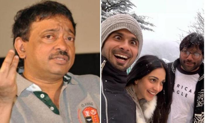 ఆ సినిమా బాహుబలి 2' కంటే నాలుగు రెట్లు గొప్పది అంటూ వర్మ పిచ్చి కూతలు-Movie-Telugu Tollywood Photo Image