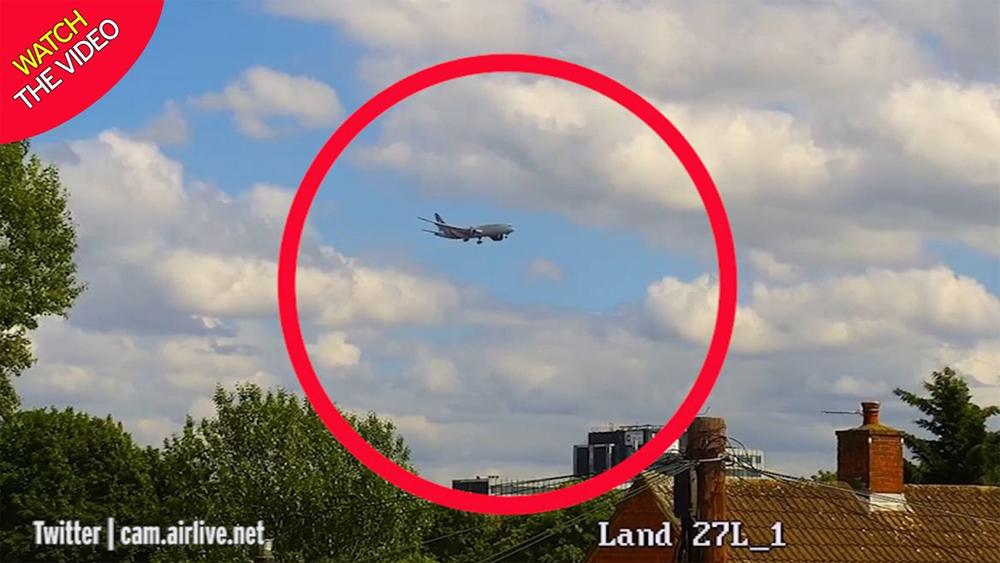 Stowaway Falls Into London Garden From Kenya Airways Plane-