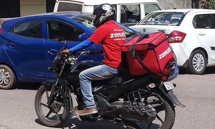 Zomato Dery Boy Buy His Dream Bike - Telugu Viral News Zomato Dery Boy Buy His Dream Bike -