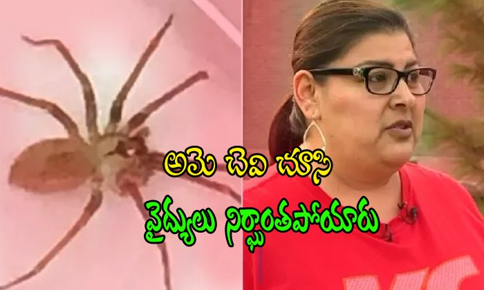 Doctor Finds Huge Venomous Spider Living Inside Woman's Ear