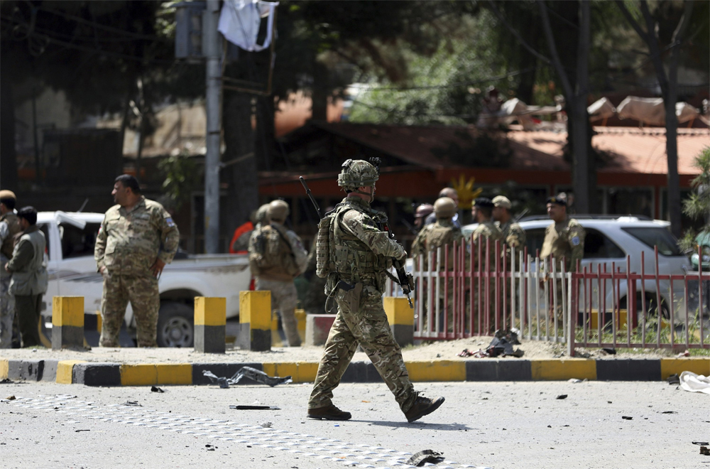Telugu America, Nri, Taliban, Taliban Warning To America, Telugu Nri News Updates-Telugu NRI