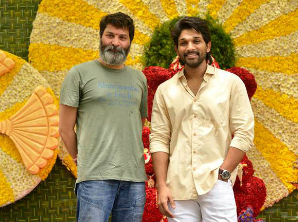 Allu Arjun And Trivikram Gives Full Clarity On Upcoming Movie-Allu Allu Next Movie Anasuya Jabardast Rashmi Tollywood Box Office Trivikram Valmiki Varun Tej