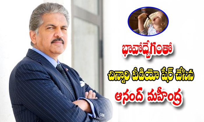 Anand Mahindra Moved By Differently Abled Toddler
