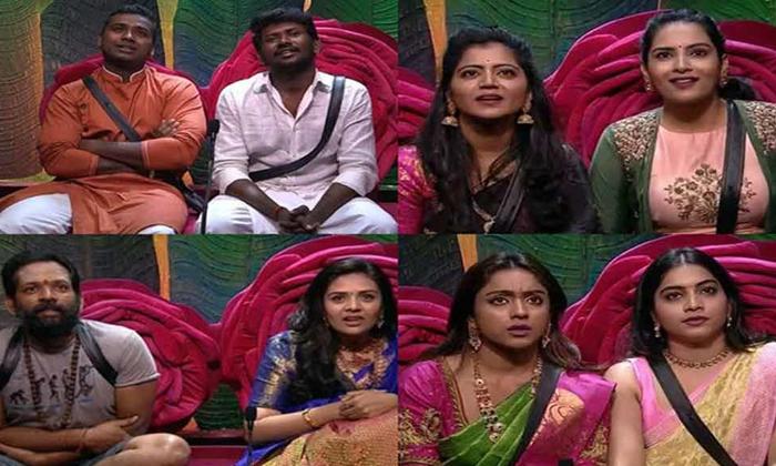 Telugu Big Boss, Ka Paul, Nagarjuna, Silpa Chakravarthy, Sradha Das, Tamanna Simhadri-