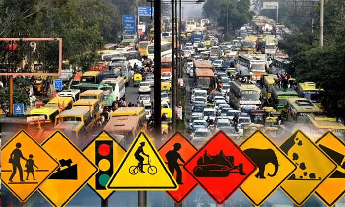 Higher Penalties For Traffic Violations To Be Implemented-higher Traffic Penalties,september 1st,signal Jumping,traffic Violations,wrong Route Telugu Viral News-Higher Penalties For Traffic Violations To Be Implemented-Higher September 1st Signal Jumping Traffic Wrong Route