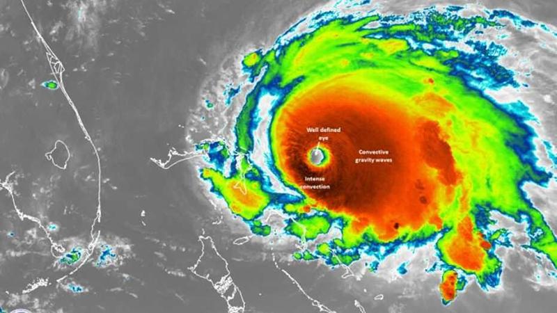 Telugu Central Florida, Florida\\'s East Coast, Hurricane Dorian, The Category 2 Storm-