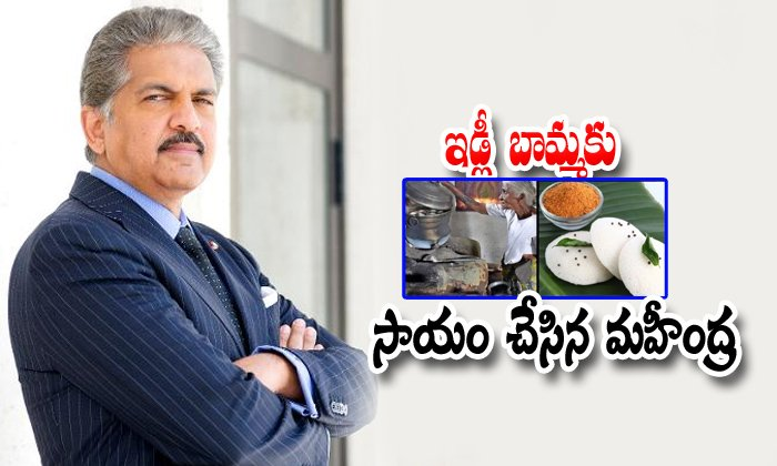 Mahindra Wants To Invests In 88 Years Old Lady Idly Business