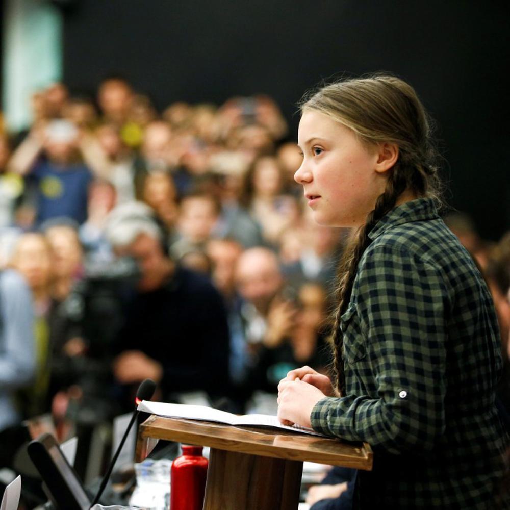 Telugu Greta Thunberg, Nri, Obama, Obama Meets Greta Thunberg, Swedish Teen Climate Activist Greta Thunberg, Telugu Nri News Updates-