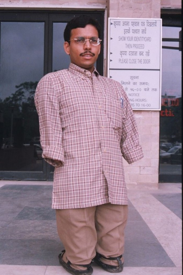 Pratap Lost Both Hands And Legs At 5 Years Yet He Did Not Lose Hope-No Arms No Oil Natural Gas Corporation Raja Mahendra