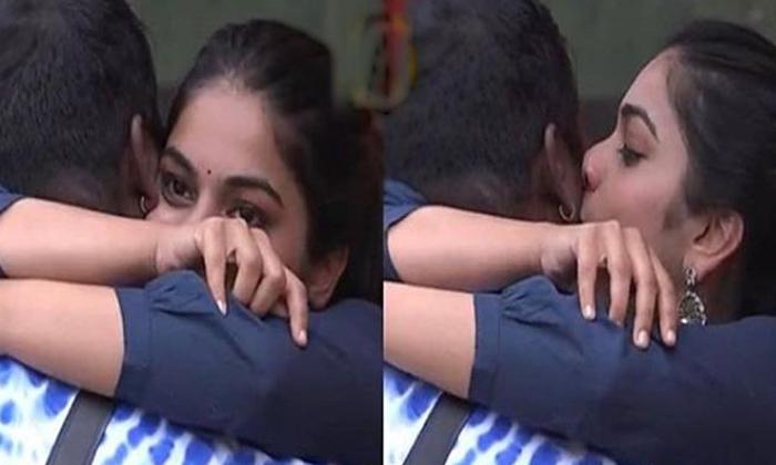 వైరల్: రాహుల్, పున్నుల ఘాటు ముద్దులు, టైట్ హగ్గులు-Movie-Telugu Tollywood Photo Image