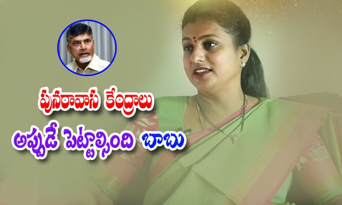 Ycp Party Leader Roja Comments On Jagan Mohan Reddy Rulling And Chandrababu Mistakes