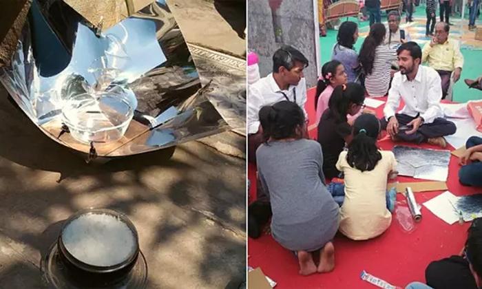 రూ. 100 లతో సోలార్ కుక్కర్ తయారు చేసి పేదల కష్టాలు తీర్చాడు, అతడికి జాతీయ అవార్డు-General-Telugu-Telugu Tollywood Photo Image