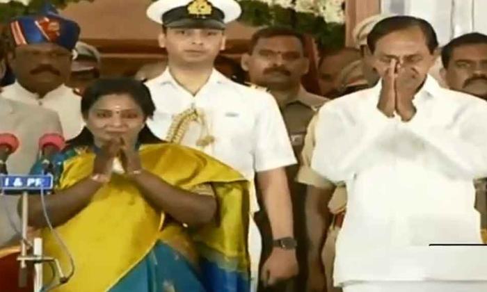Tamilisai Soundararajan Oath In Telangana Governner