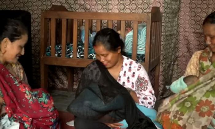 Telugu Anitha Kumpaha, Bala Temple, Five Woman Mothers, Sanu Nagrkoti, -