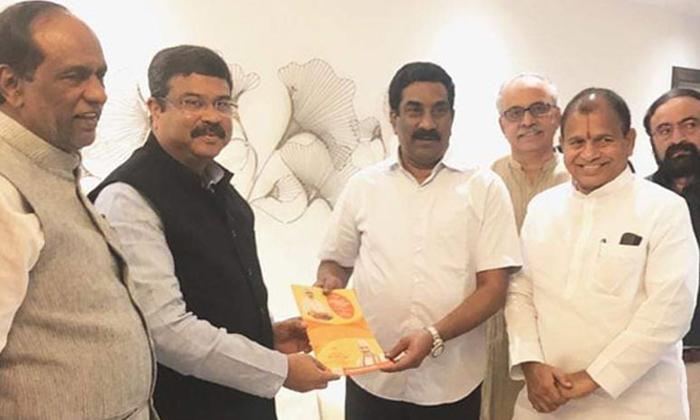 Telugu Abn Md Radha Krishna, Ap Cm Ys Jagan Mohan Reddy, Chandrababu Run The Plan, Radhakrishna, Radhakrishna Meet Amithshaw, Rk Went To Delhi Meet In Amith Shaw-Telugu Political News