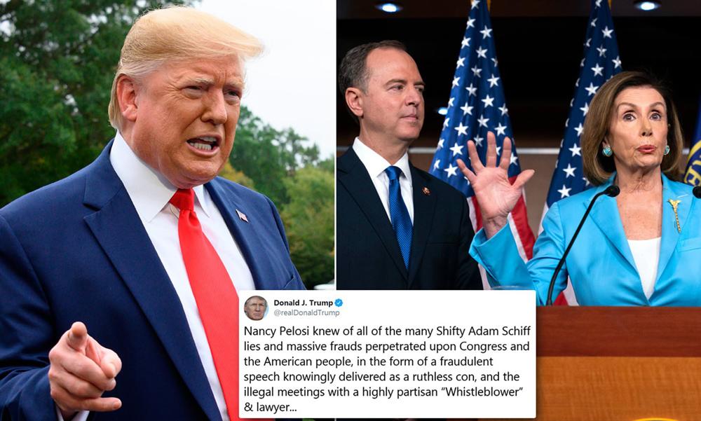 Telugu Donald Trump, Nancy Pelosi, Nri, Telugu Nri News Updates, Trump-