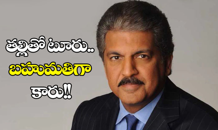 Anand Mahindra Wanted To Gift Car To Man Who Took Mother On Tour
