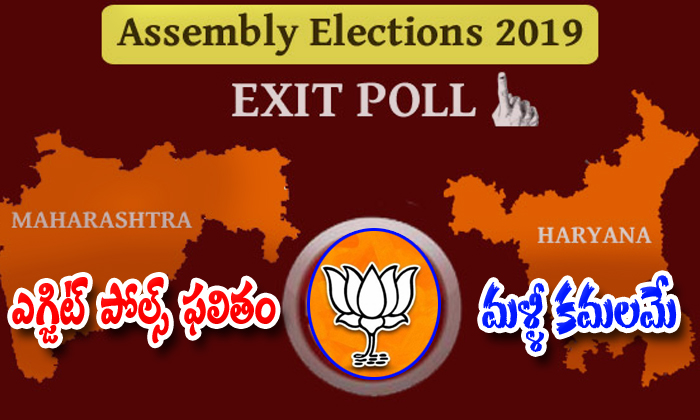 Exit Polls Results Show In Bjp Side