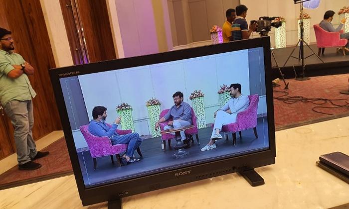 Trivikram Special Interview With Charan And Chiranjvi-saira Narasimha Reddy,trivikram Telugu Tollywood Movie Cinema Film Latest News Trivikram Special Interview With Charan And Chiranjvi-saira Narasim-Trivikram Special Interview With Charan And Chiranjvi-Saira Narasimha Reddy