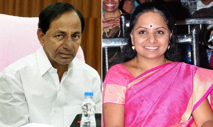 కవిత యాక్టివ్ అవ్వడం వెనుక కెసిఆర్ ప్లాన్ ఏంటి -Political-Telugu Tollywood Photo Image