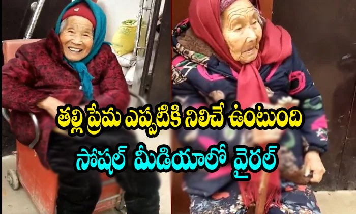 107-year-old Mother Gives Candy To The 87 Year Old Daughter-87 Year Old Daughter,china,mother Emotion Telugu Viral News 107-year-old Mother Gives Candy To The 87 Year Old Daughter-87 Daughter China Mo-107-year-old Mother Gives Candy To The 87 Year Old Daughter-87 Daughter China Emotion