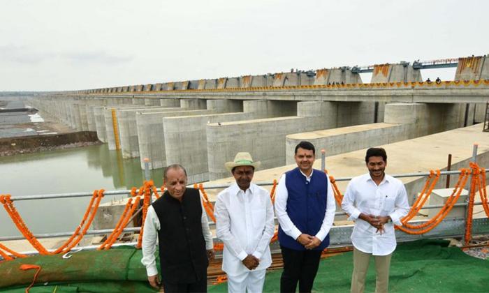Telugu , Ap Cm Jagan Mohan Reddy, Ap Farmmars, Kaleshwar, Ponguleti Sudhakar, Telangana Cm Kcr-