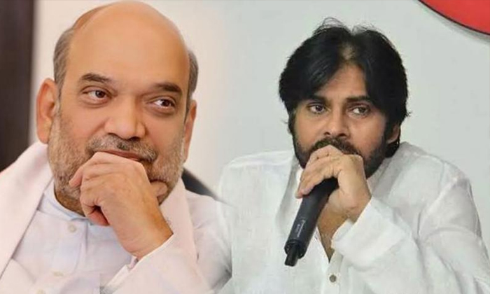 Telugu Amith Shah, , Ap Bjp Leaders Want To Pawan Kalyan In Cm Race, Ap Cm Jagan Mohan Reddy, Janasena Chief Pawan Kalyan, Tdp Chief Chandrababu Naidu-Telugu Political News