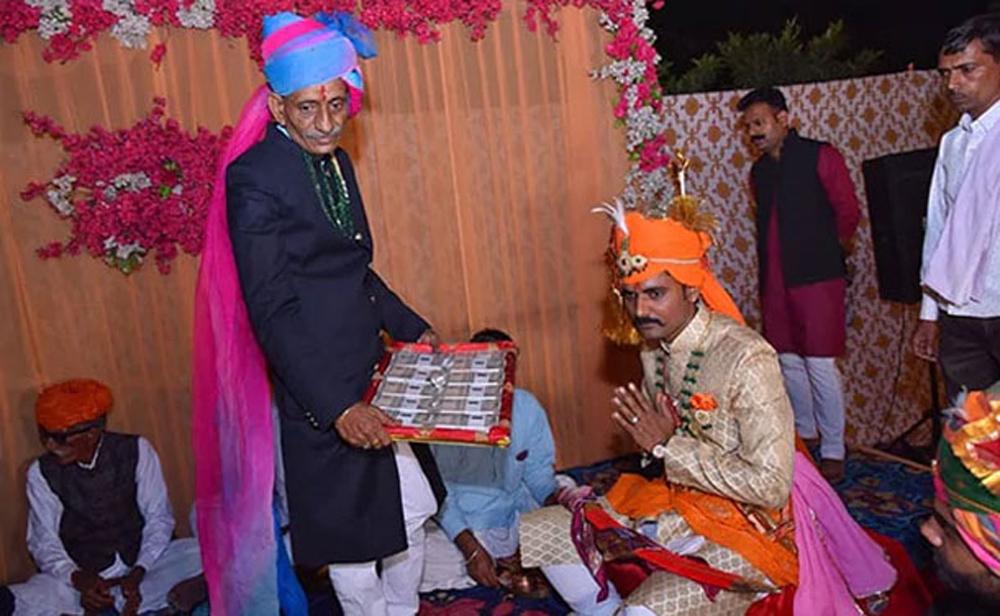 Telugu Cisf Jawan Refuses Dowrey, Refuses Dowrey At Wedding, Telugu Viral News Updates, Viral In Social Media-
