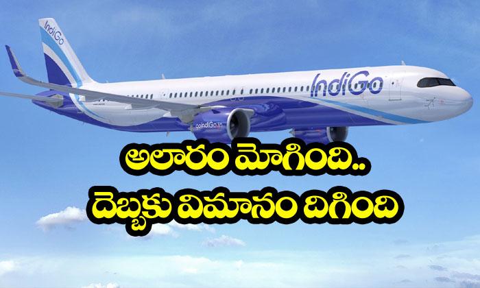 False Fire Alarm Makes Indigo Plane For Emergency Landing