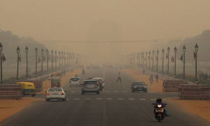 Telugu Air Pollute And Comes In Health Problems, Air Stalls, Delh, Delhi Air Pollution, Delhi Governament, Delhi Peoples Leave The Place, -