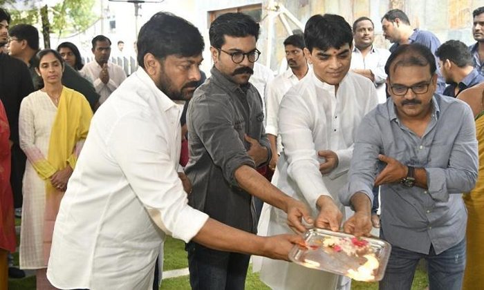 Telugu Chiranjeevi And Trisha, Koratala Siva, Koratala Siva After Maharshi With Make A Movie With Chiranjeevi, Mega Star Chiranjeevi, So Many Temples Settings Plan For Koratala Movie-