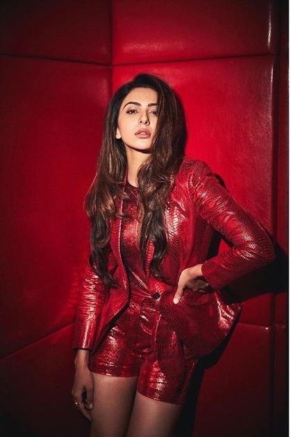 Telugu Photo Talk Rakul Preeth Singh, Rakul In Photo Shoot, Rakul In Red Dress, Rakul Preeth Singh, Tollywood And Bollywood Heroin-