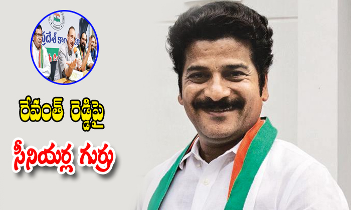 Telangana Seniour COngress Leaders Angry On Revanth Reddy-Revanth Reddy Telangana Congress Muncipal Elections Vijaya Case