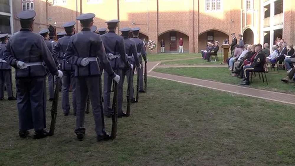 Telugu 21-gun Salute, Nri, Telugu Nri News Updates, University Of Virginia, Veterans Day Ceremony-