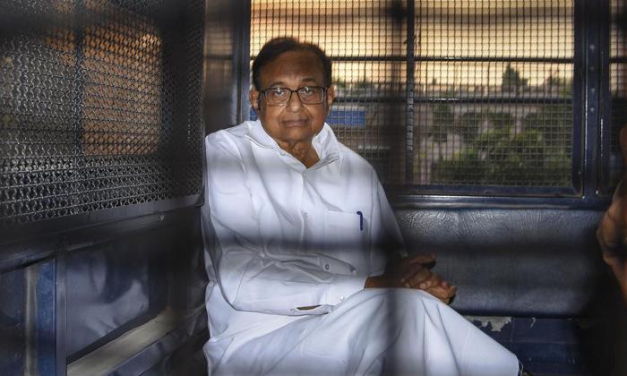 Telugu Chidambaram, , Chidambaram Facing The Inx Media Case, Chidambaram In Tihar Jail, Congress Leader Chidambaram-
