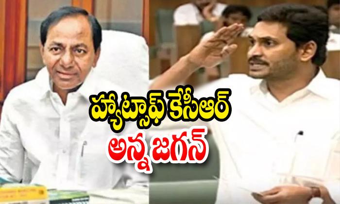 TeluguStop.com - Jagan Says Hats Off Kcr Anna