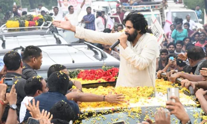 Telugu Jagan Develop In Only Kadapa Distict, Janasena Chief Pawan Kalyan, Pawan Kalyan, Pawan Kalyan Comments On Jagan Mohan Reddy, Pawan Kalyan Recently Visit In Rayalaseema-
