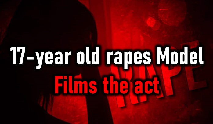 17-year Old Boy Rapes 21-year Old Model! His Friend Films It!