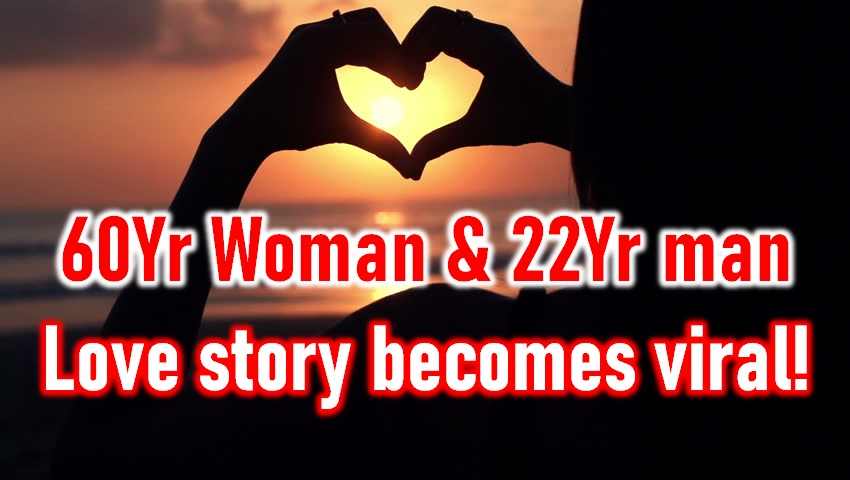 60Yr Woman In Love With 22Yr Man! Age Does Not Matter Love!-Latest Viral News Old Young Man Agra