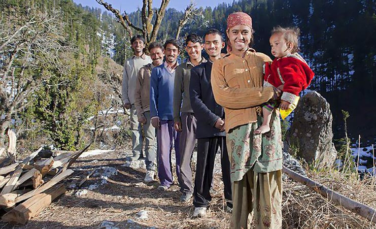 A Story Of Real Life Draupadis In Himachal Pradesh-Brothers Draupadis Himachal Pradesh Mahabharatam