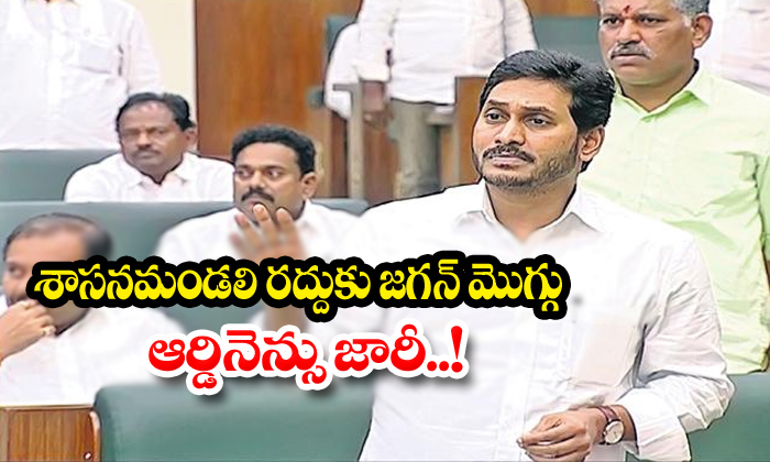 Jagan Wants To Lean Towards Abolition Of Legislative Council And-Issue Ordinance Jagan Legislative Shareef Ysrcp శాసనమండలి రద్దు