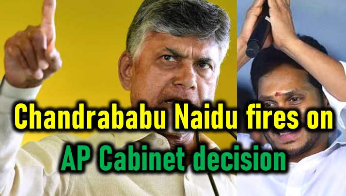 Chandrababu Naidu Comments On Ap Cabinet Decision!
