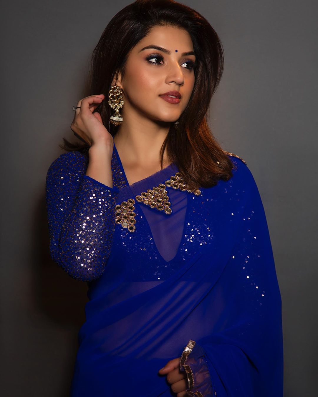 Charming And Lovely Mehreen Pirzadaa – Traditional Outfit Latest Photo Shoot-Mehreen New Images Photos